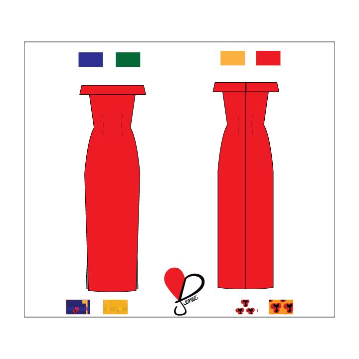 SYM Off-Shoulder Dress