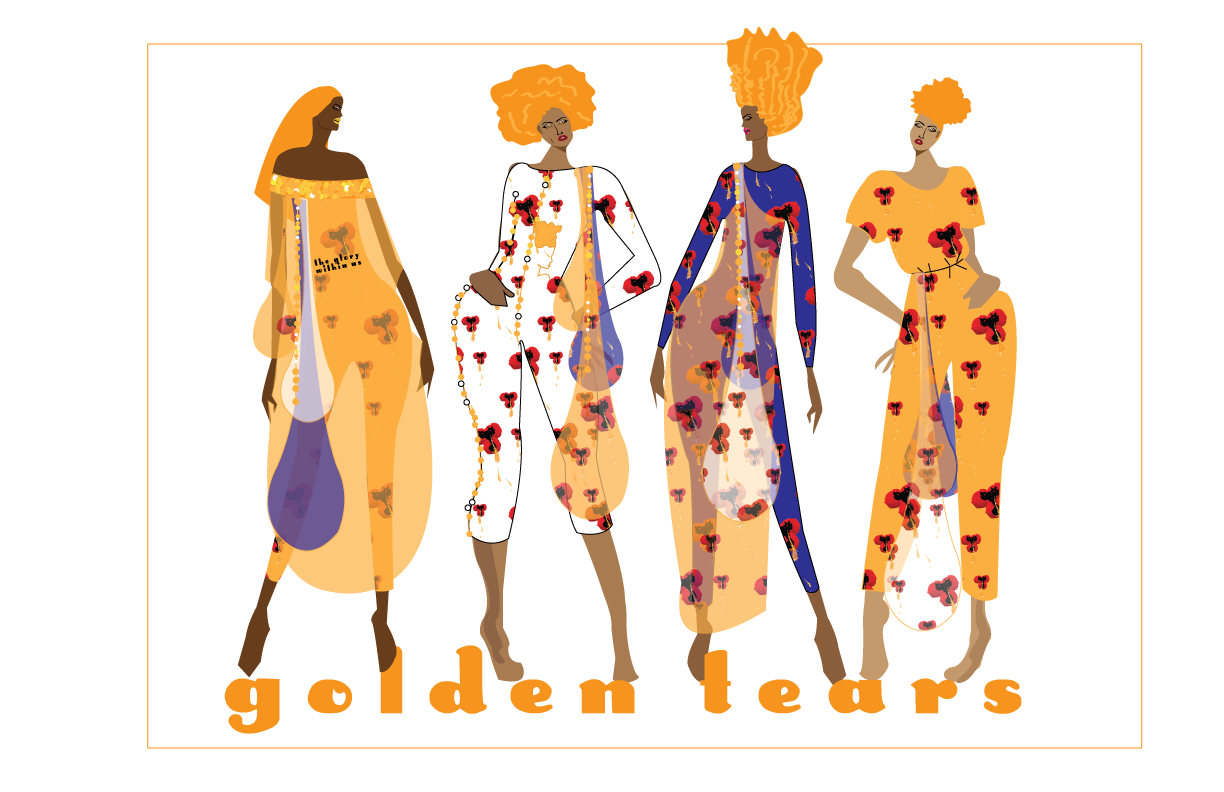 Golden Tears: A New Collection by Love, D.Jenee' LLC